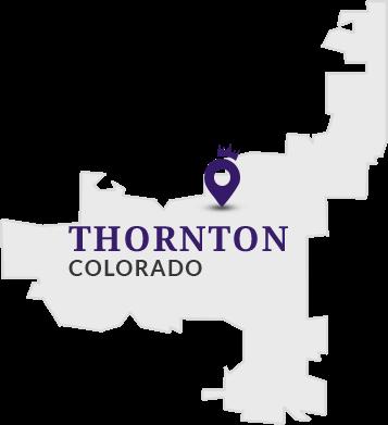 Thorton Colorado Location