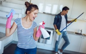 Why is it important to have a clean house